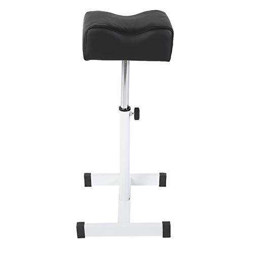 bizofft Apoio para os pés, descanso de mesa, confortável, pernas de metal, apoio para os pés, almofada grossa ajustável para spa