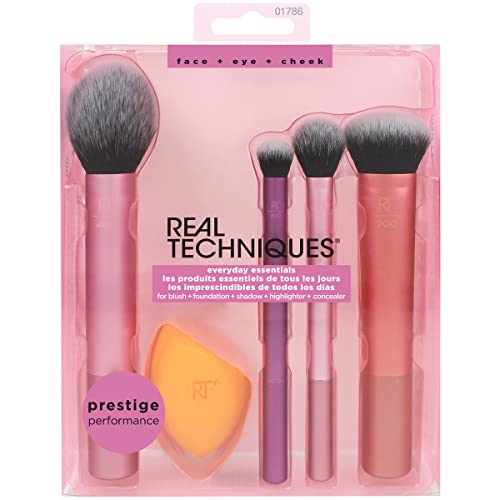 Kit Everyday Essentials, REAL TECHNIQUES